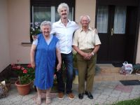14. 2014 With my godmother and godfather in Hegyhatszentpeter, Hungary