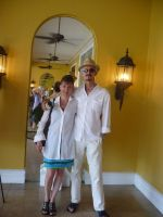 35. 2013 With Ildiko Balogh Batho in St. Thomas USVI